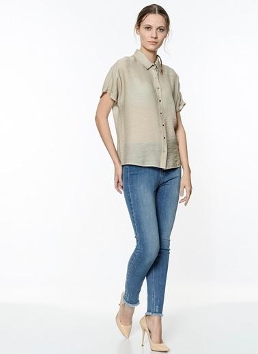 Kısa Kollu Gömlek-Koton